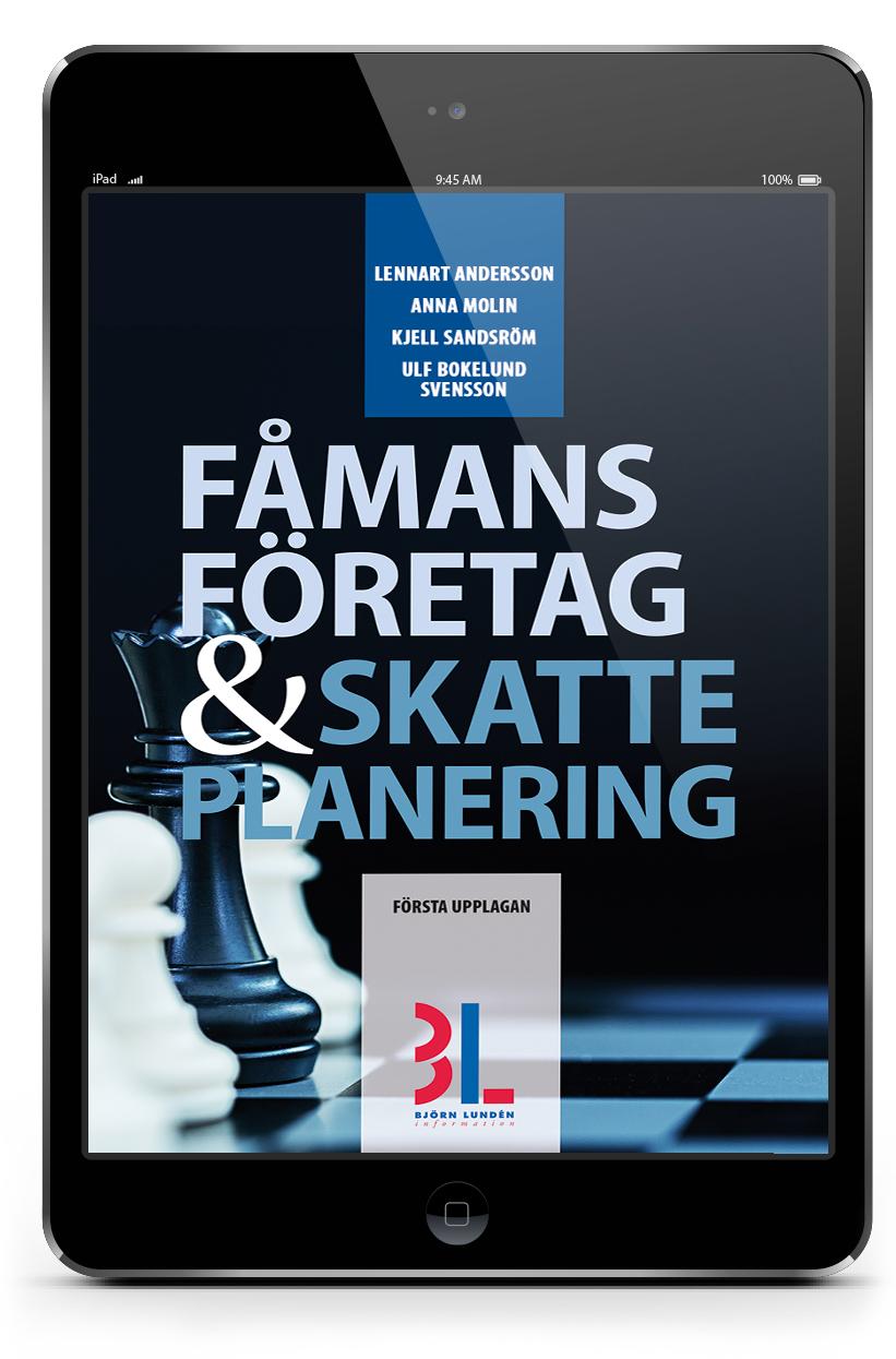 E-bok Fåmansföretag och Skatteplanering | Karnov Group