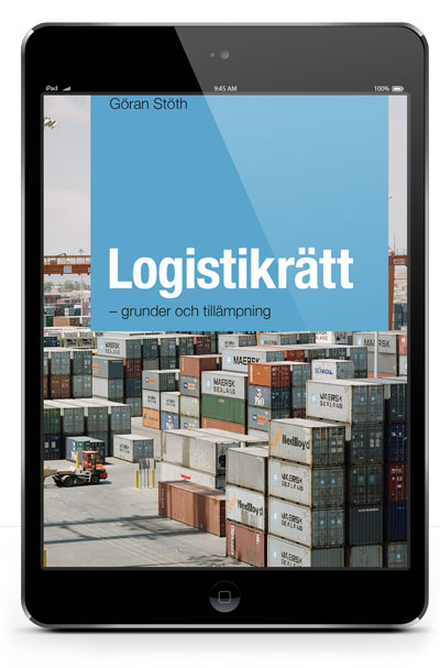 E-bok Logistikrätt – en grundläggande redogörelse   Karnov Group