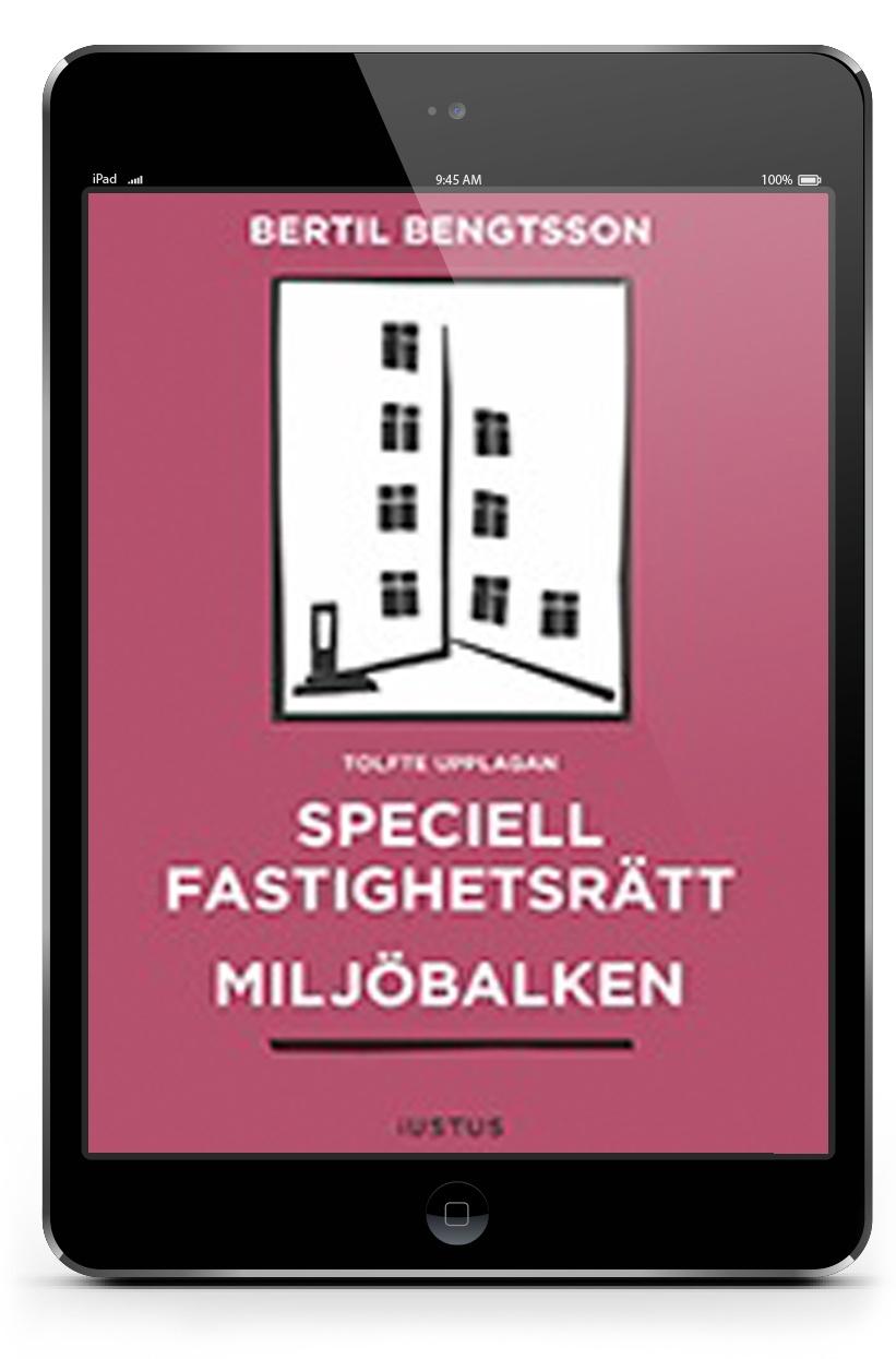 E-bok Speciell fastighetsrätt Miljöbalken | Karnov Group