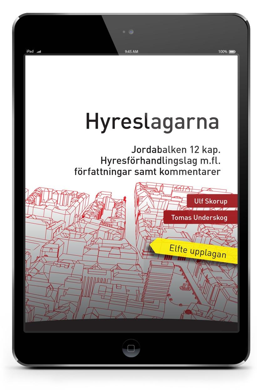 E-bok Hyreslagarna 11 upplagan | Karnov Group